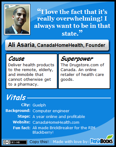 Ali Asaria, CanadaHomeHealth, Managing Director