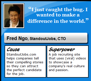 super entrepreneur fred ngo of standout jobs freshbooks blog - Jobs That Make A Difference In The World