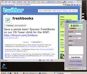 Run FreshBooks like a desktop app with Prism