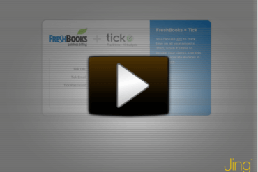 Tracking time in Tick? Bill with FreshBooks