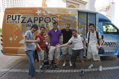The Zappos Party Bus