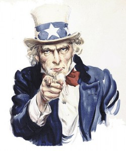 uncle sam - call for blogposts