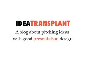 Presentation design blog Idea Transplant