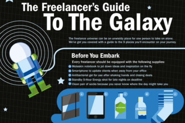 Infographic: The Freelancer's Guide to the Galaxy