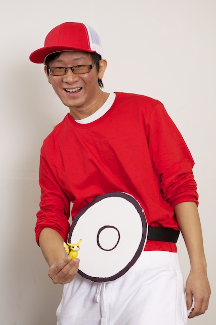 Nelson as a Pokeball