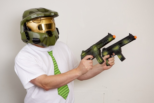 Mitch as Master Chief