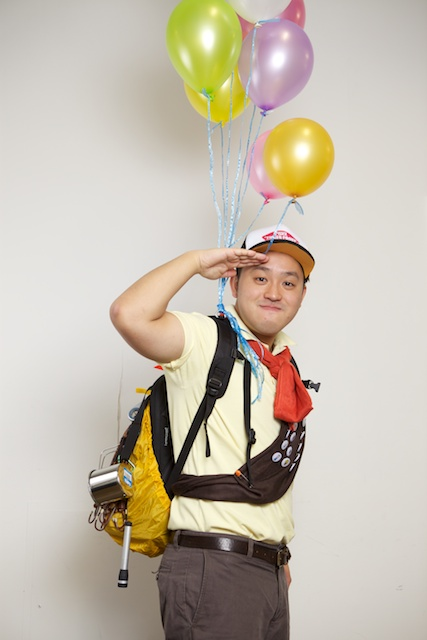 "Tim C. as Russell from ""Up"""