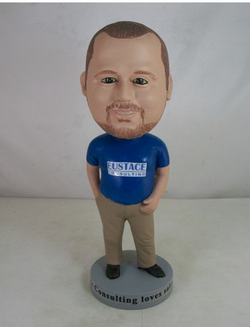 Chris' bobble-head version of himself!