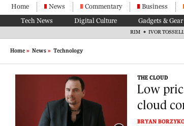 Customers making headlines: Marquis Cote runs his whole business in the cloud