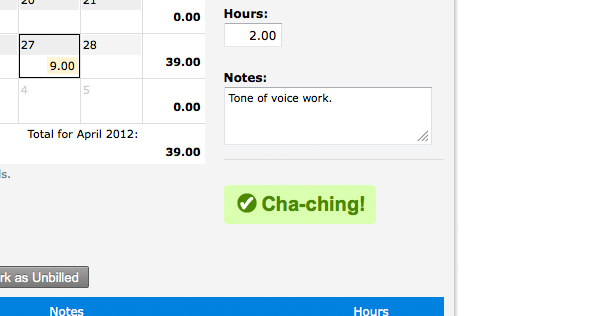 FreshBooks Time Tracking Fun