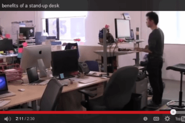 Benefits of Working at a Standing Desk