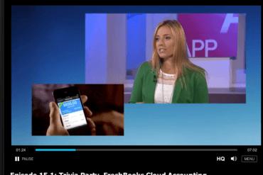 FreshBooks Mobile App on CTV's App Central