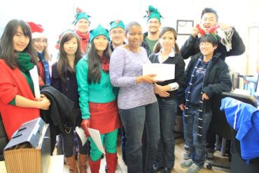 Caroling to Customers with the FreshBooks Crew