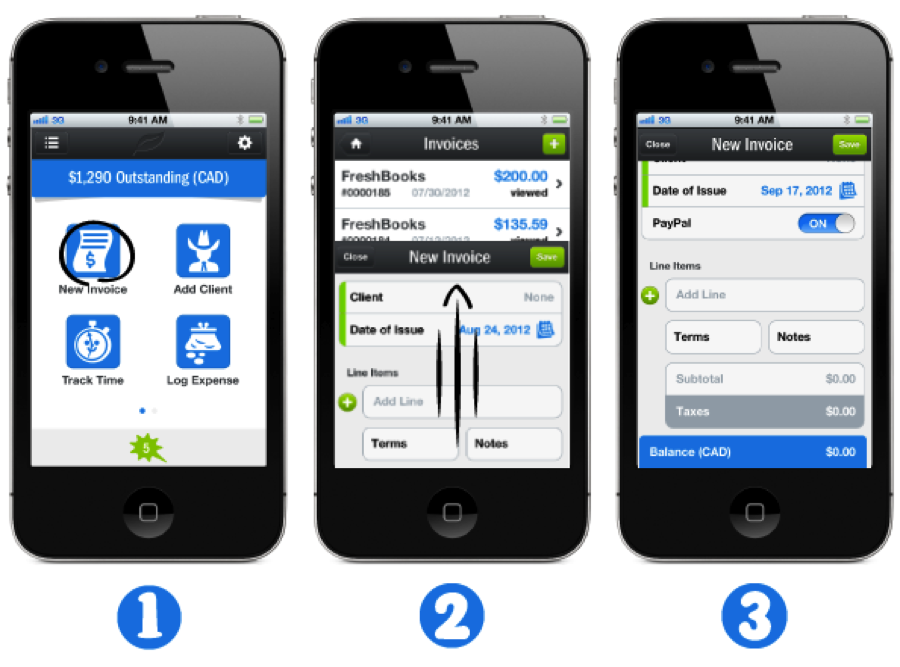 3 mistakes made designing the freshbooks iphone app freshbooks blog Architecture designing app