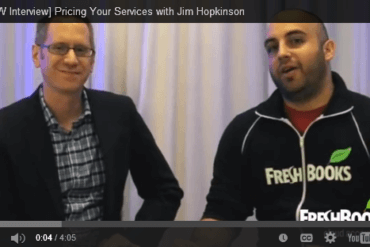 SXSW Interview: Pricing Your Services with Jim Hopkinson