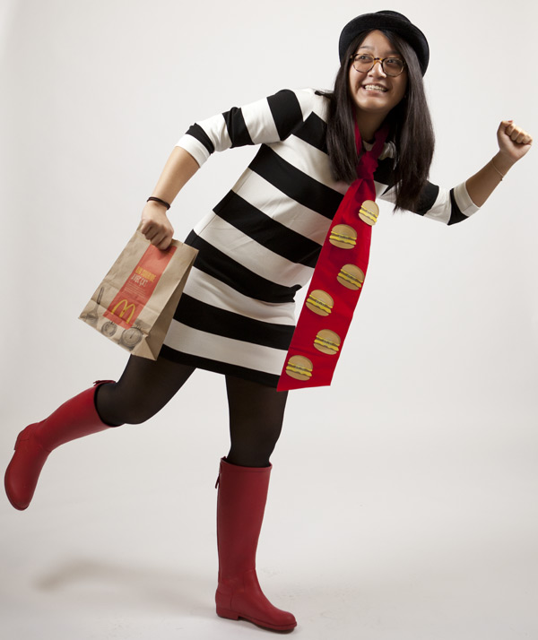 kathleen as the hamburglar mcdonalds