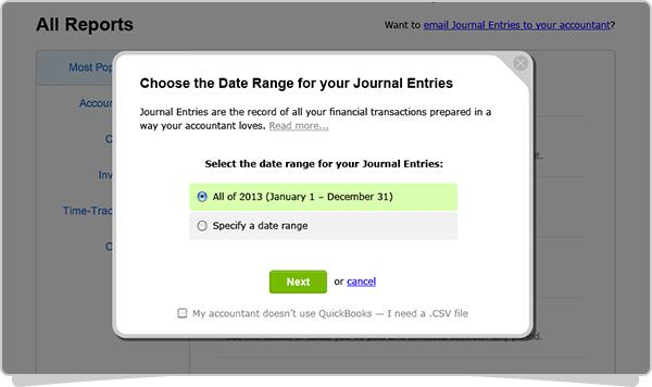 Journal Entries Step 2