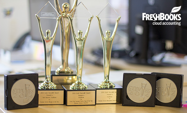FreshBooks Stevie Awards