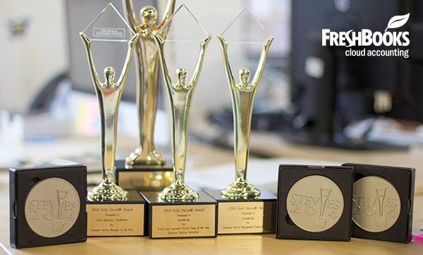 FreshBooks Stevie Awards