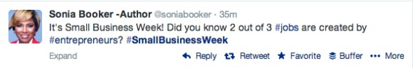National Small Business Week, US, Twitter