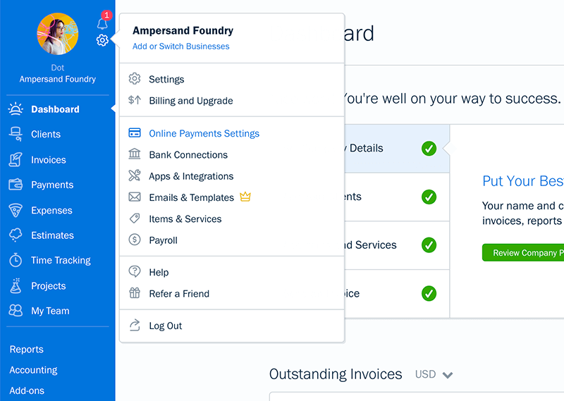 Payments by FreshBooks