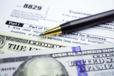U.S. Tax Form 8829—Expenses for Business Use of Your Home