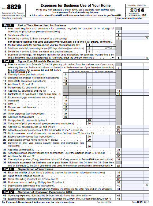 The Friendly Guide To Tax Form 8829 Expenses For Business Use Of
