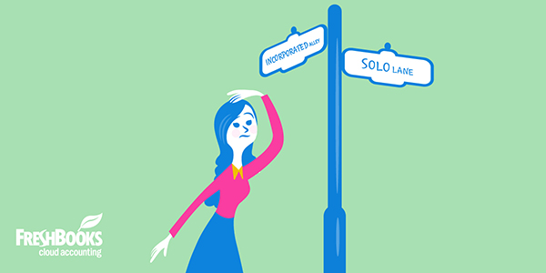 incorporating solo business