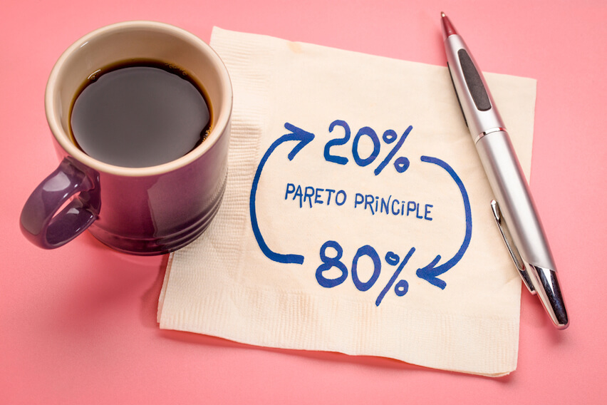How to Increase Productivity Using the Pareto Principle (a.k.a the 80/20 Rule)