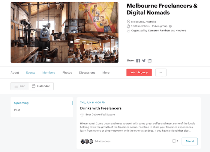 How to Use Meetup com to Grow Your Freelancing Business