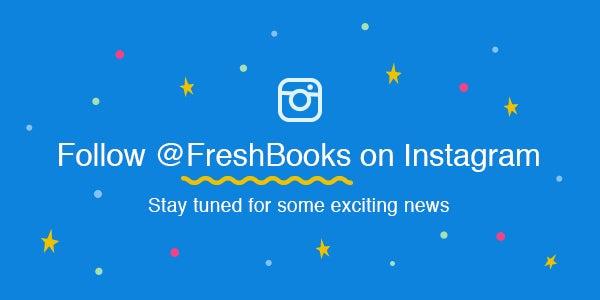FreshBooks Instagram