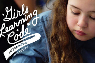 Young Girls Code Their Way to a Brighter Future