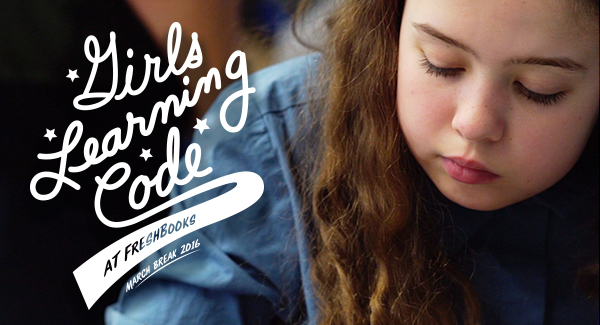 Girls Learning Code