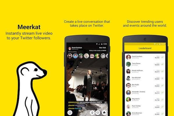 Event technology / meerkat