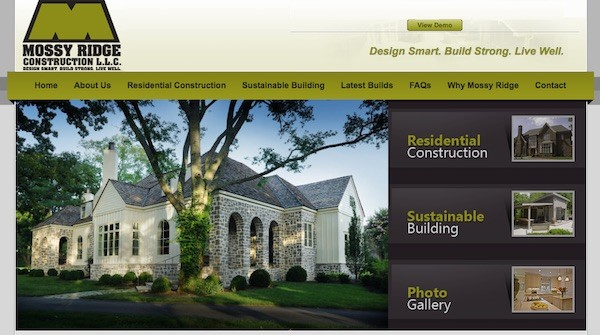 Green Home Builder / Mossy Ridge