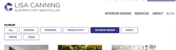 design blog: Lisa Canning