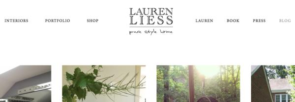 design blog: Lauren Liess