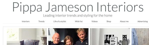 design blog: Pippa Jameson