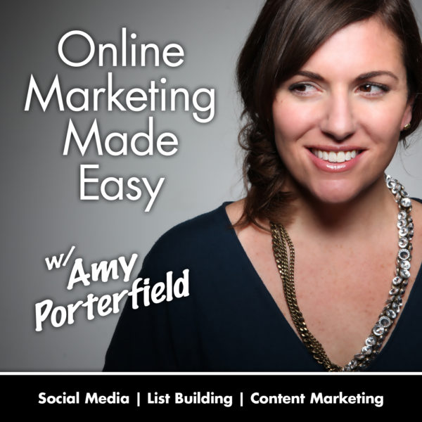 amy porterfield / marketing podcasts