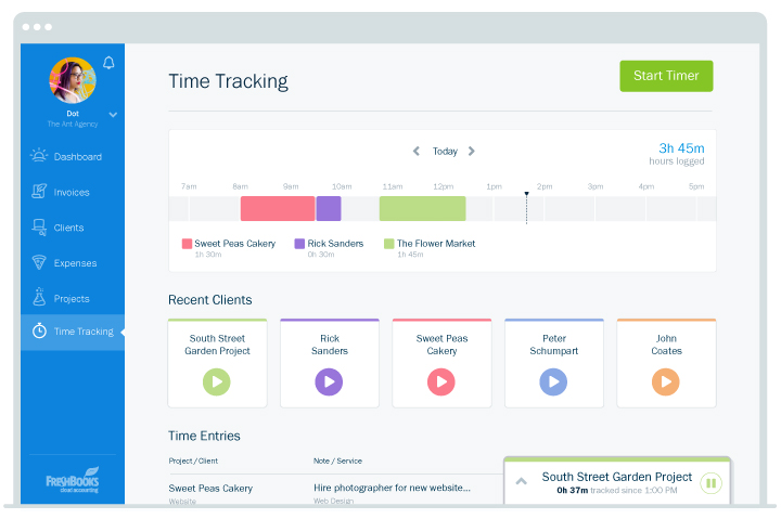 Time tracking