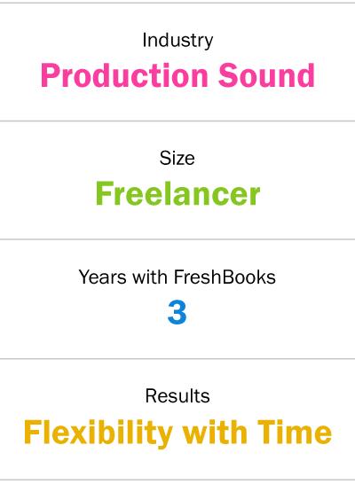 production sound