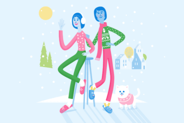 Happy Holidays from the FreshBooks Content Team