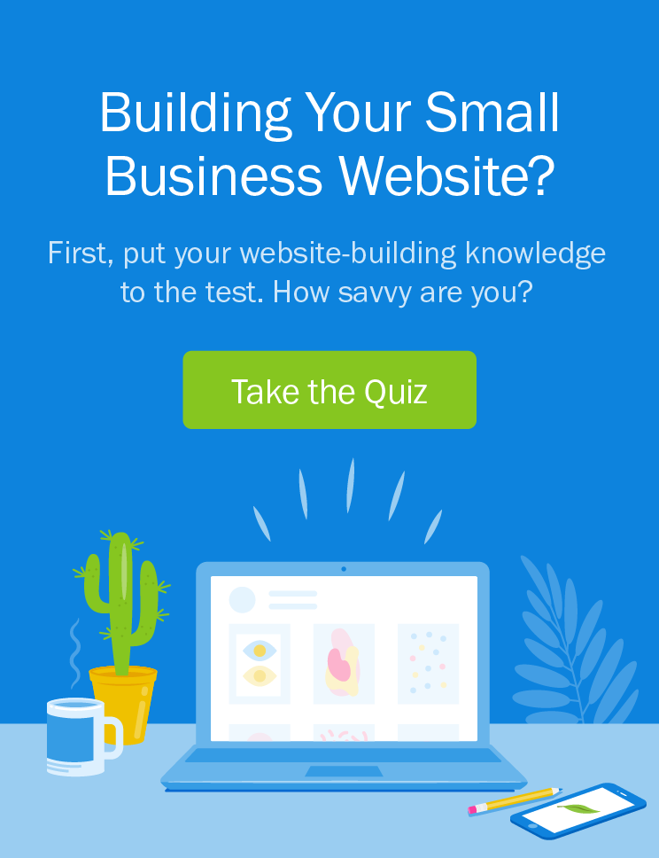 Building Your Small Business Website - Take the Quiz
