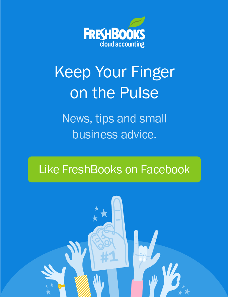 Keep Your Finger on the Pulse: Like FreshBooks on Facebook
