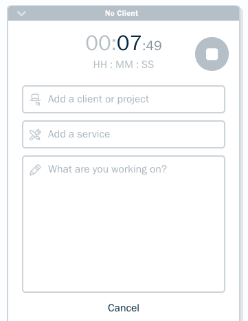 time tracking timer