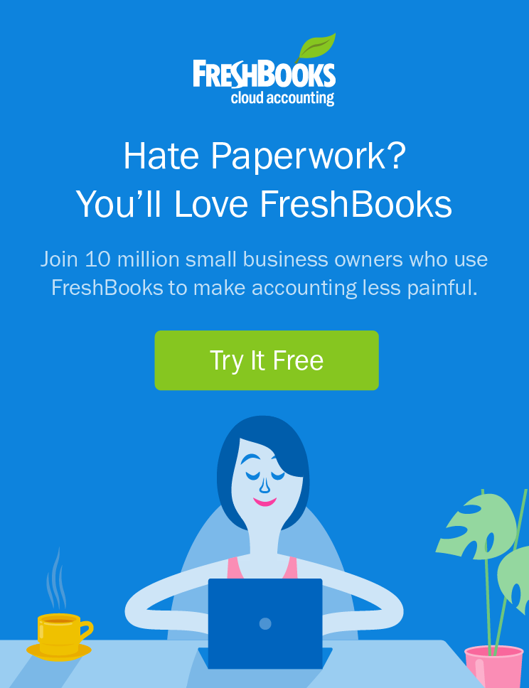 Hate Paperwork? You'll Love FreshBooks
