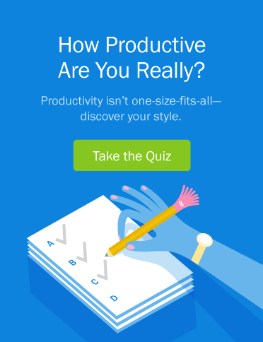How Productive Are You Really? - Take the Quiz