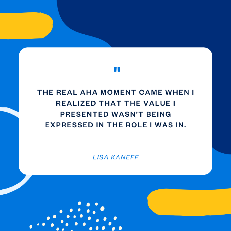 Lisa Kaneff marketing consultant quote
