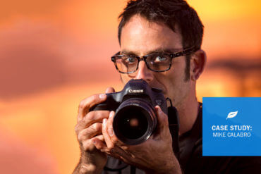 Meet Mike, a Photographer Who's Grown His Client Base with the Support of an Accounting Solution