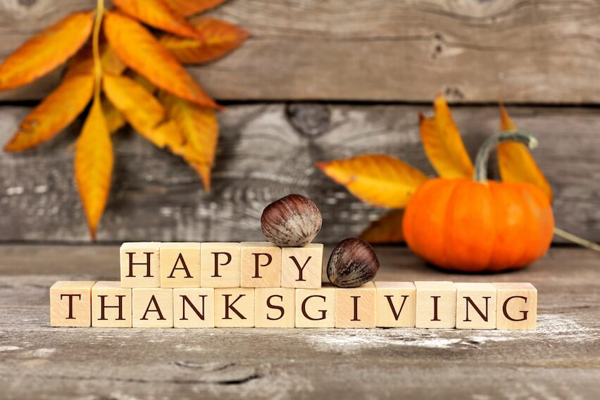 Happy Thanksgiving to Our U.S. Customers!